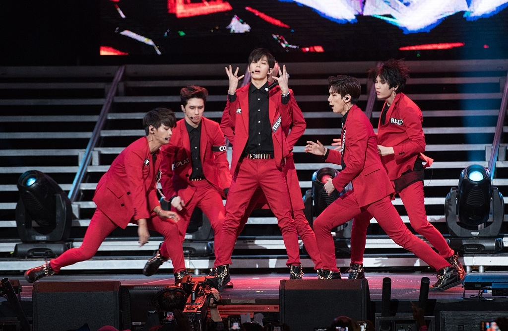 most popular k pop group