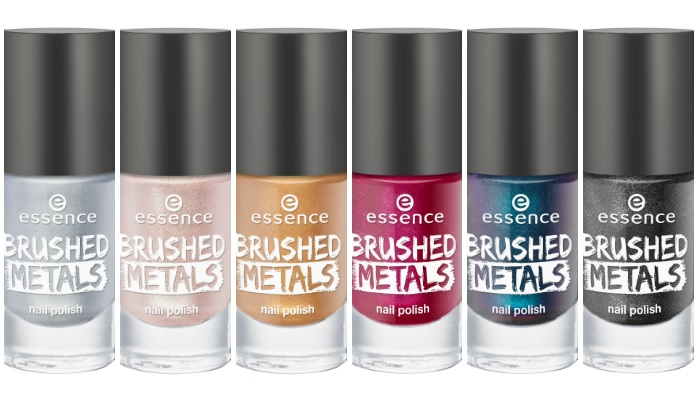 essence brushed metals nail polish