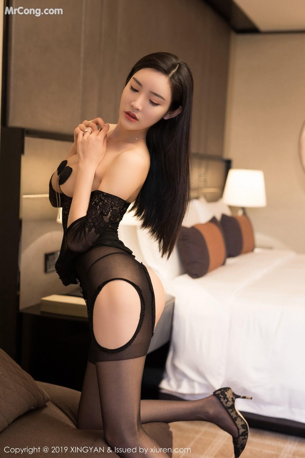 Image XingYan-Vol.121-He-Chen-Xi-MrCong.com-010 in post XingYan Vol.121: He Chen Xi (何晨曦) (49 ảnh)
