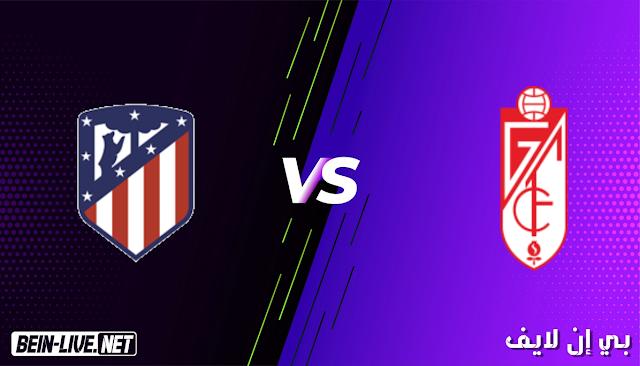 مشاهدة مباراة غرناطة و اتلتيكو مدريد بث مباشر اليوم بتاريخ 13-02-2021 في الدوري الاسباني