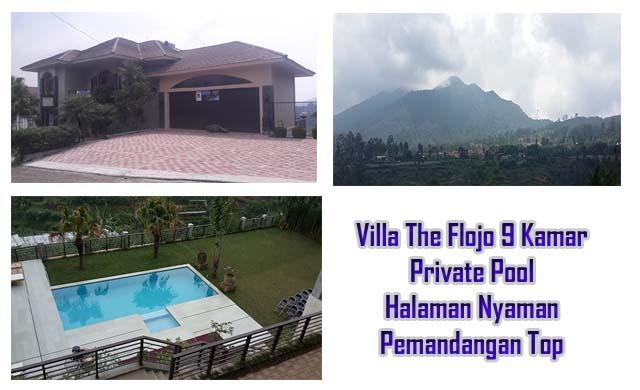 Villa Besar Paling laris di lembang fasilitas kolam renang