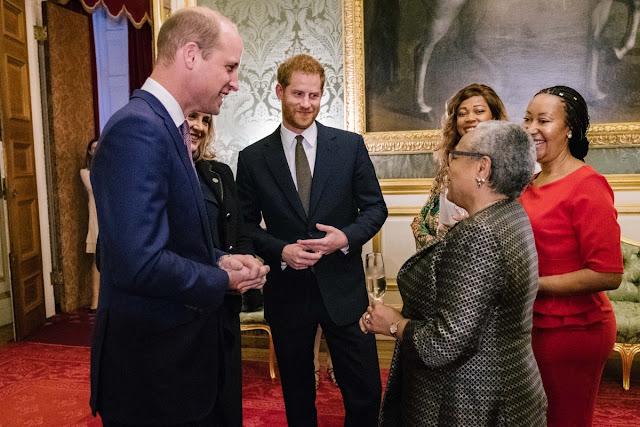 Książę William i książę Harry na konferencji #EndWildlifeCrime