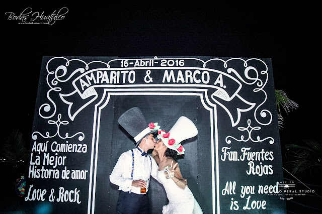 Bodas Huatulco Amparo y Marco
