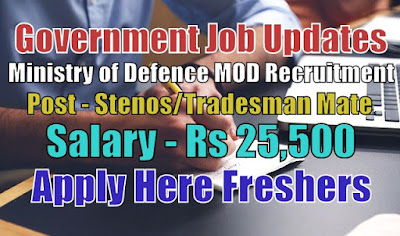 MOD Recruitment 2020