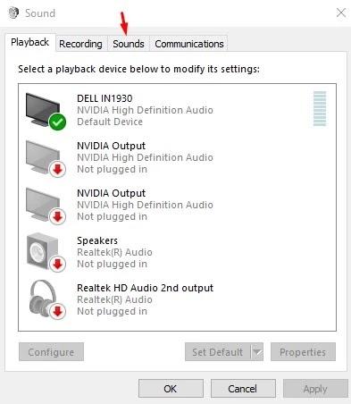 تفعيل وتغيير صوت بدء التشغيل في وينذوز 10