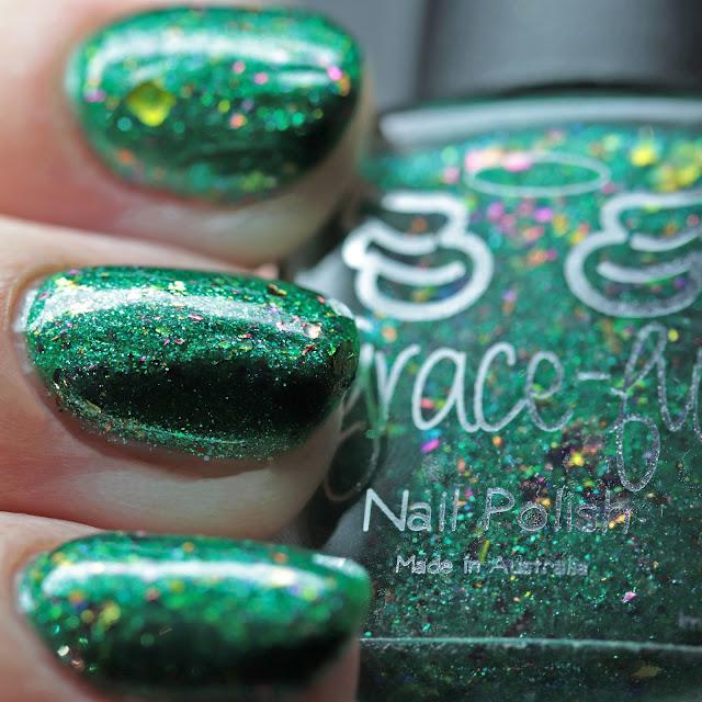 Grace-full Nail Polish Lights on the Tree