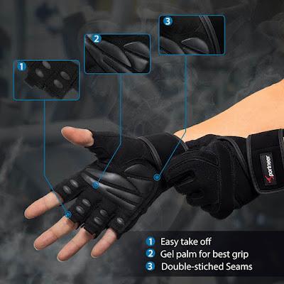 Sportneer Crystal Gym Gloves