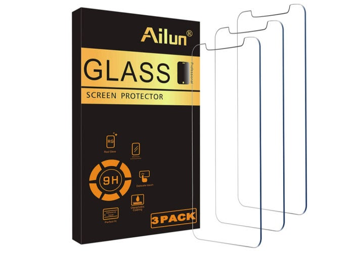 Amazon favorite products - iPhone glass screen protectors.