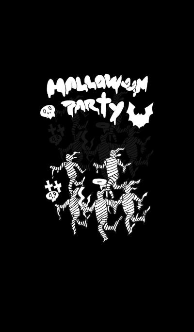 Halloween party (black)