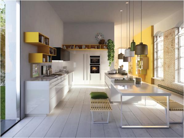 Progettare una cucina moderna dettagli home decor