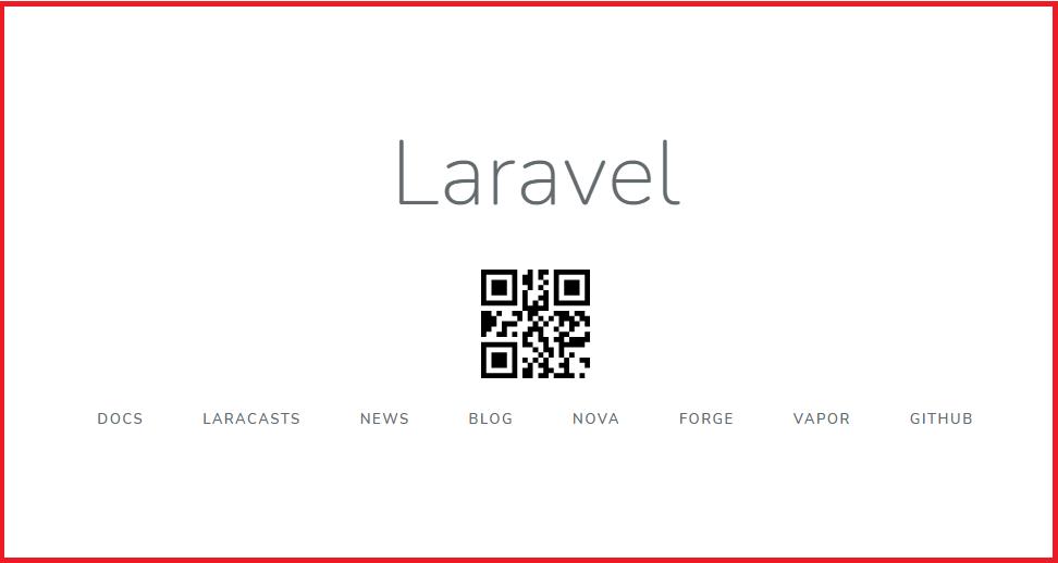 cara membuat qr code laravel