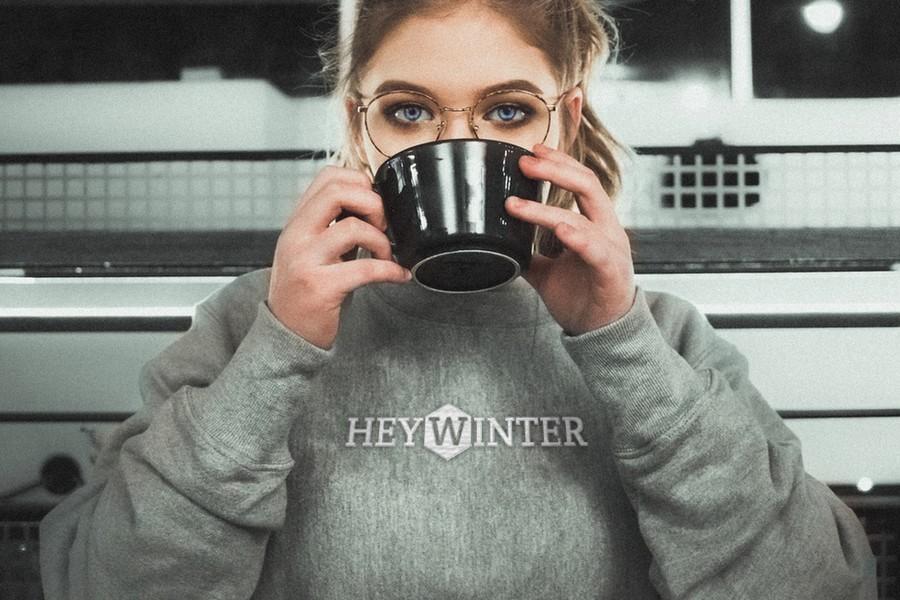 Hey Winter Mock Sweater