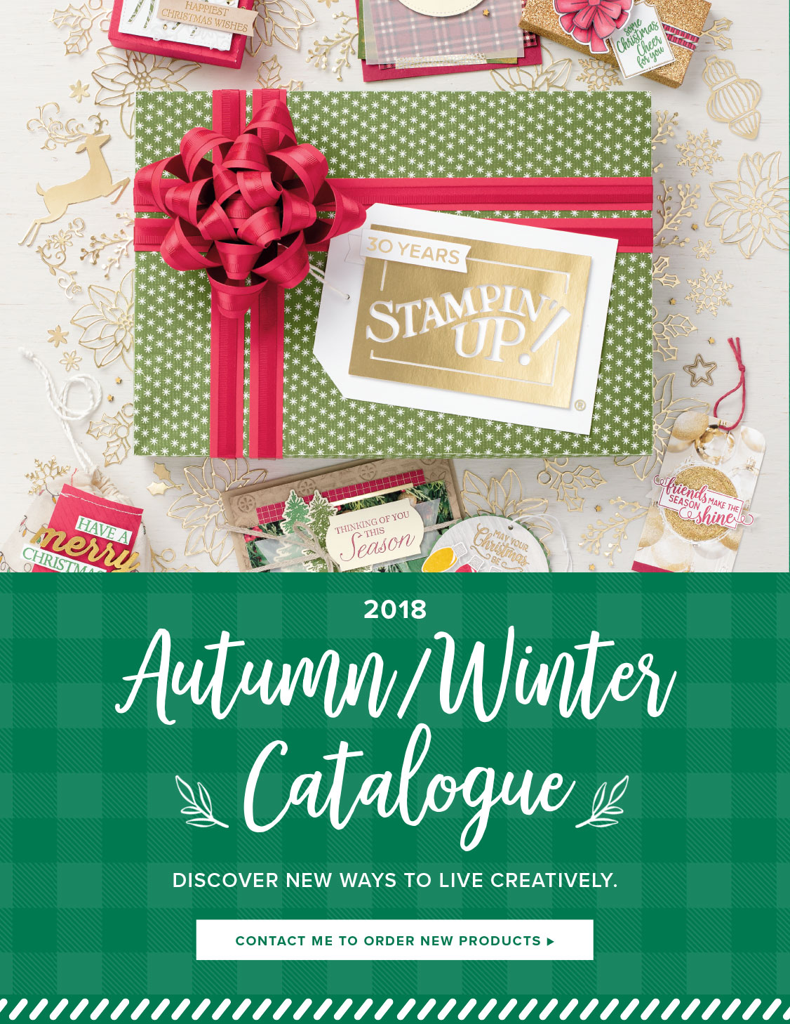 Stampin' Up! Autumn/Winter Catalogue