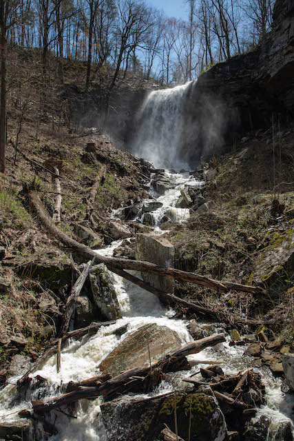 Wildcat Falls near Sparta