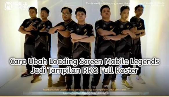 RRQ Loading Screen Full Roster
