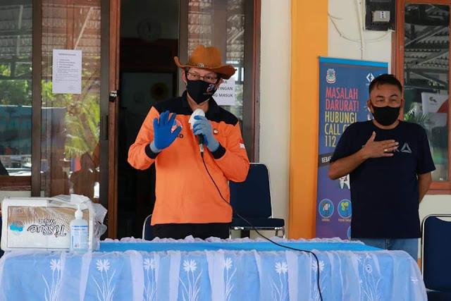 Walikota GSVL turlap pantau penyaluran bantuan kepada masyarakat Kota Manado