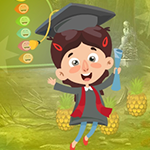Play Games4King - G4K Elated Graduate Girl Escape Game