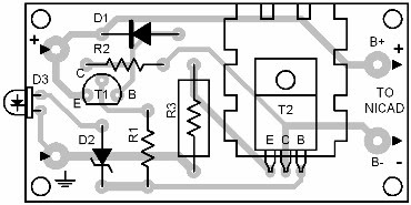 Parts Placement Layout Polarity Protected Charger