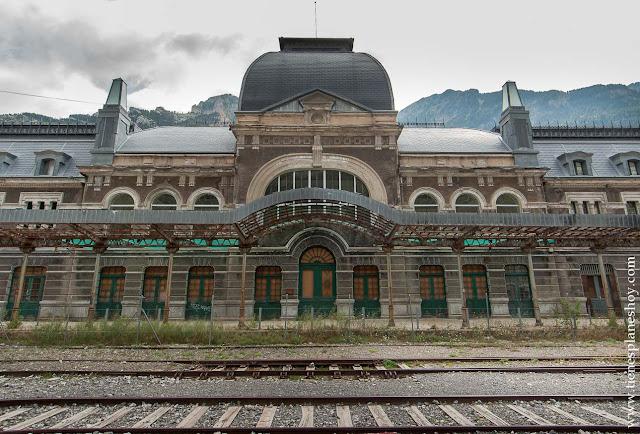 Estación Canfranc escapada a los pirineos Francia España Lugares con encanto