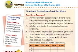 LENGKAP !!! Kunci Jawaban Halaman 53 Matematika Kelas 5 Kurikulum 2013