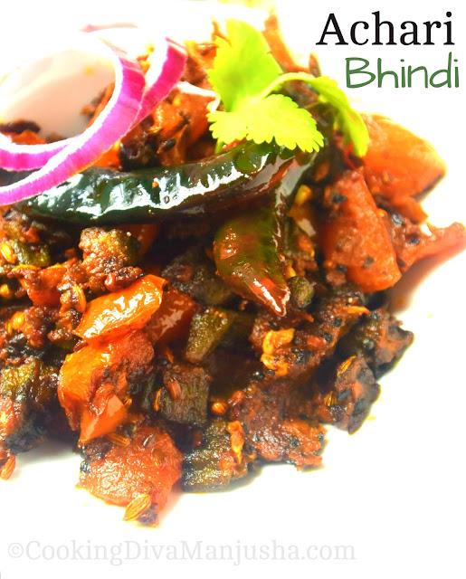 Achari-Bhindi-recipe