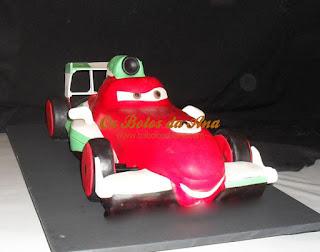 Bolo 3D Cars Francesco Bernoulli