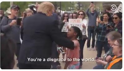 """""""Trump"""" e a menina"""