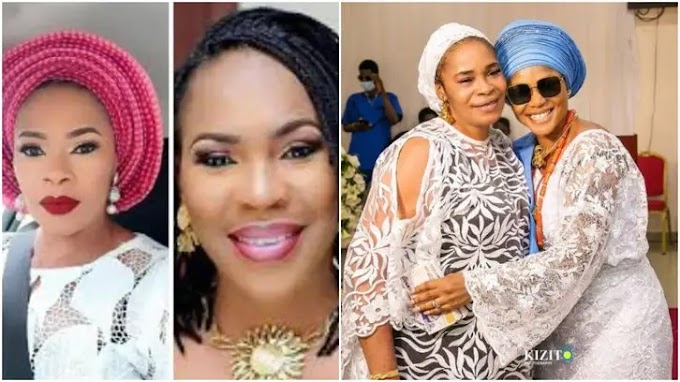 Remi Surutu slaps Faithia Balogun at burial ceremony (Details)