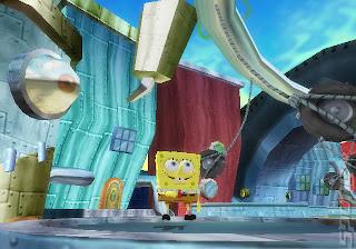 Spongebob Squarepants Creature From The Krusty Krab (PS2) 2006
