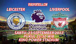 Prediksi Leicester City vs Liverpool 23 September 2017