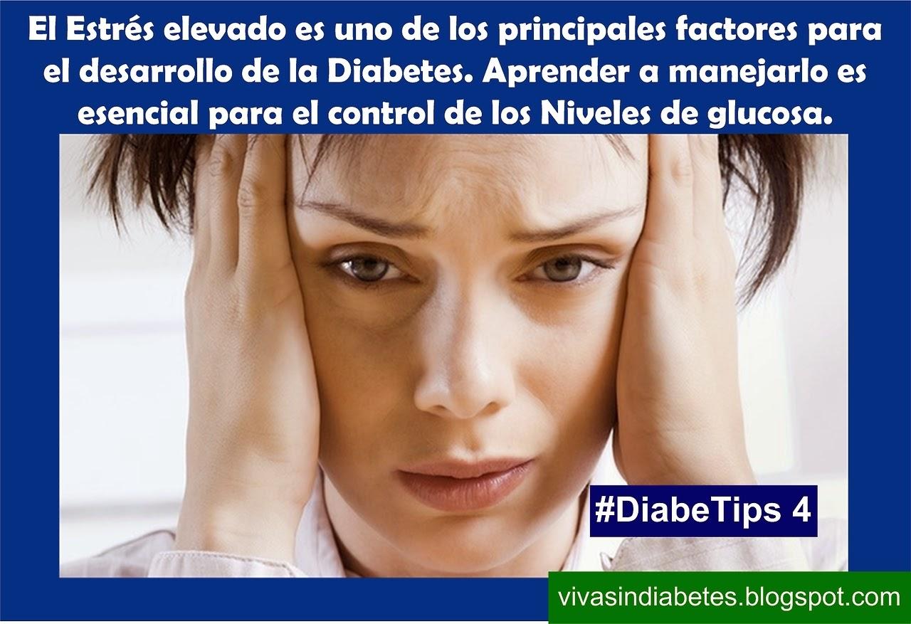 Diabetips estres y diabetes