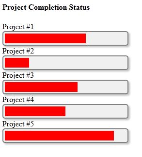 html5 progress bar