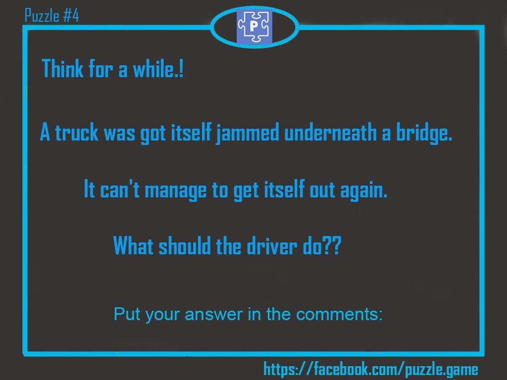 Puzzle 4 Truck Driver Logic
