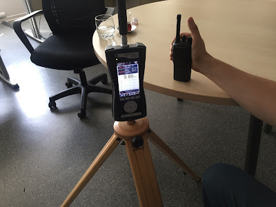 Telsizler, dect, walkie talkie kaynaklı elektromanyetik alan şiddeti ölçümü