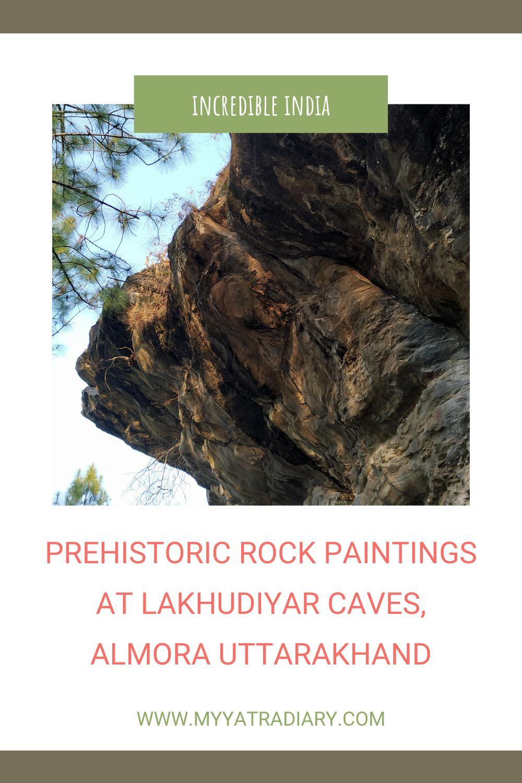 Prehistoric Rock Paintings at Lakhudiyar Caves Almora Uttarakhand