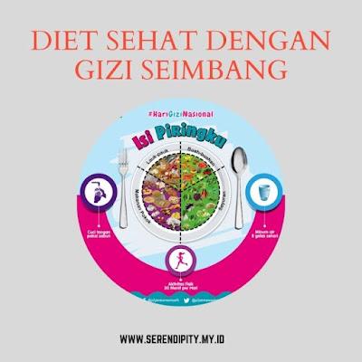 tips diet sehat gizi seimbang