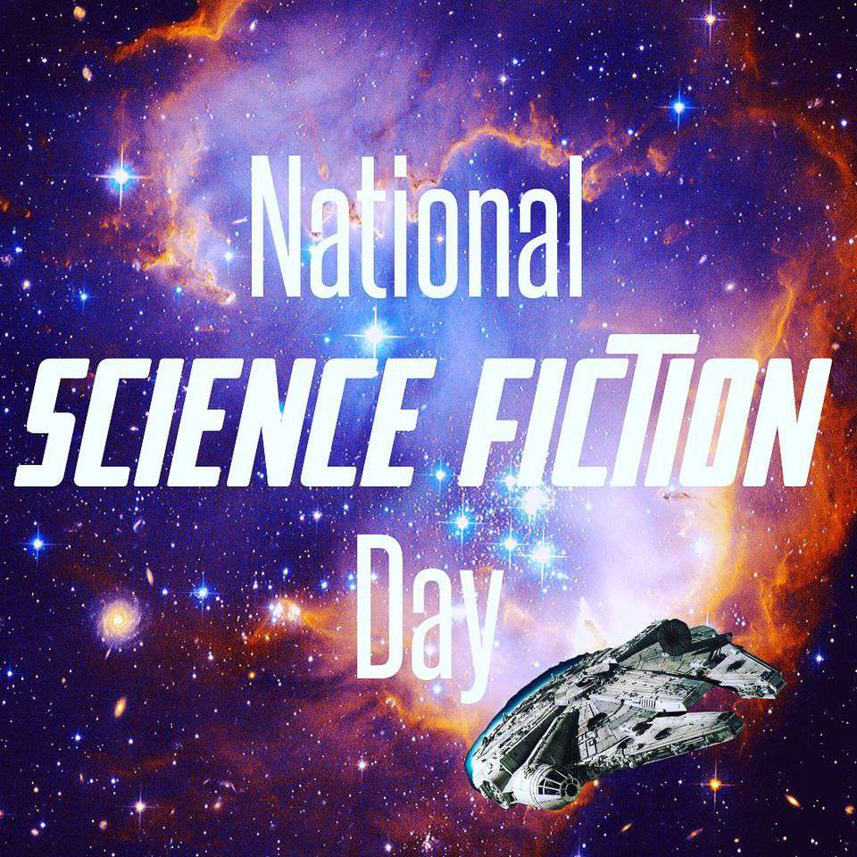 National Science Fiction Day Wishes Awesome Picture