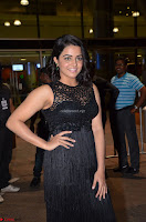 Wamiqa Gabbi in a sleeveless Black Designer Transparent Gown at 64th Jio Filmfare Awards South ~  Exclusive 043.JPG