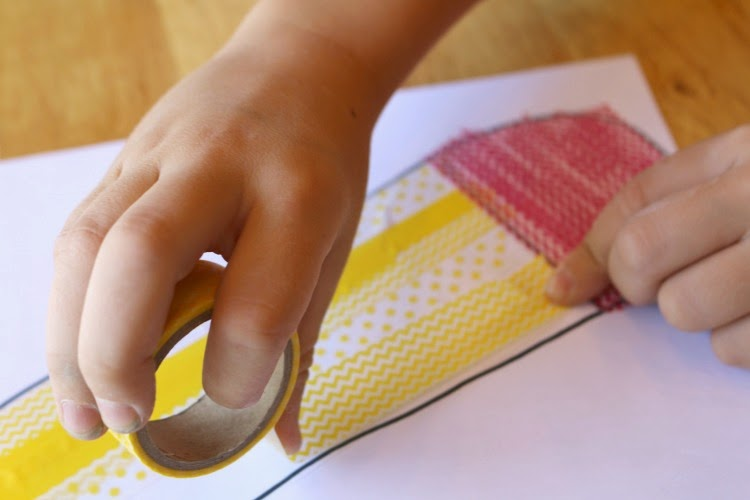Washi Tape Craft for Kids