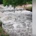 Capela; Chuva desta madrugada faz represas e riachos transbordarem