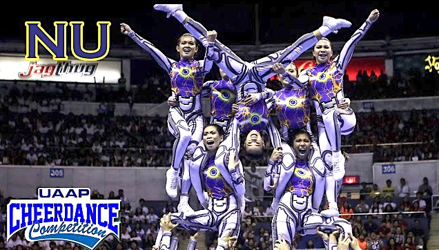 NU Pep Squad at 2016 UAAP Cheerdance Competition