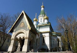 Sofía, Iglesia Rusa de San Nicolás o Sveti Nikolai ( църква Свети Николай).