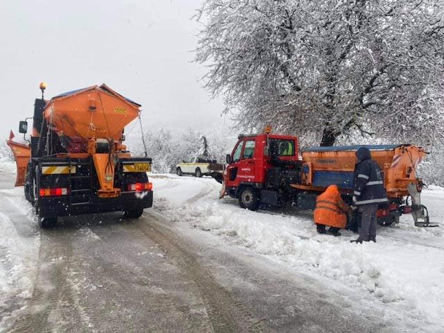 Που εντοπίζονται το βράδυ της Δευτέρας τα προβλήματα στο οδικό δίκτυο της Περιφέρειας Πελοποννήσου