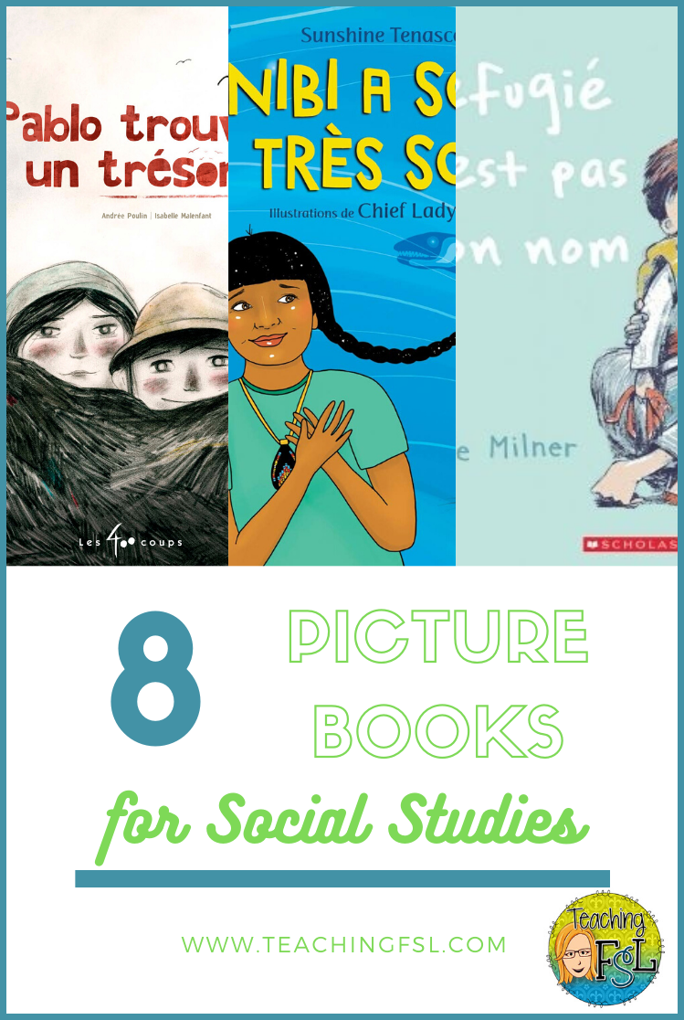 8+ Picture Books for Grade 6 Social Studies (Strand B)