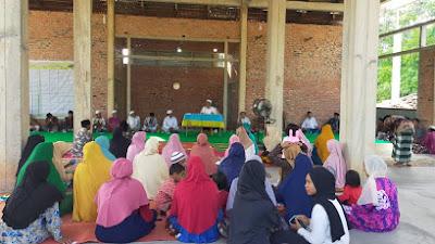 Menjelang Bulan Suci Ramadhan Penggunaan Masjid Raudhatul Jannah di Resmikan, Kades PUGA