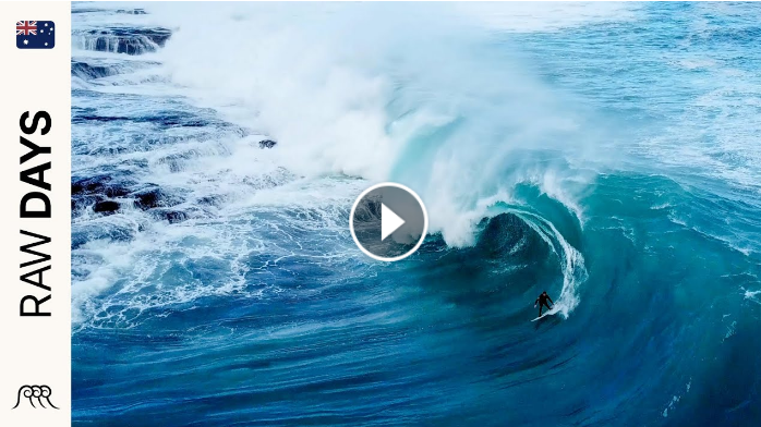 RAW DAYS Coral Coast Western Australia Huge barrels in July