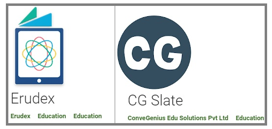 Free Download Digital Content Mobile /PC Apps (Erudex, CG Slate) for 1st Class To 10th Class Students In AP State - How To Use and Key Features Of Erudex ,CG Slate Apps