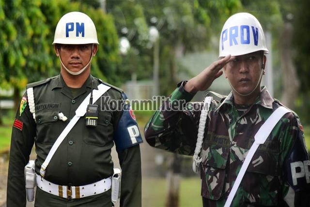 Inilah Perbedaan Polisi Militer (PM) Dengan Provos TNI, Dari Tugas Hingga Seragamnya
