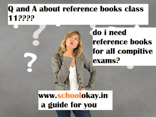 best reference books for class 11 for exams