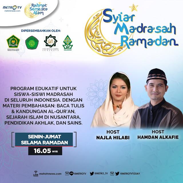 Jadwal Syiar Madrasah Ramadan | Metro TV